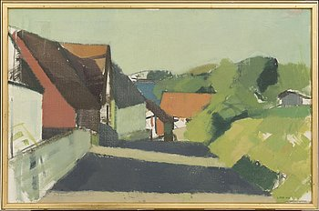 GUSTAV ARNE, oil on canvas, signed and dated 1953.