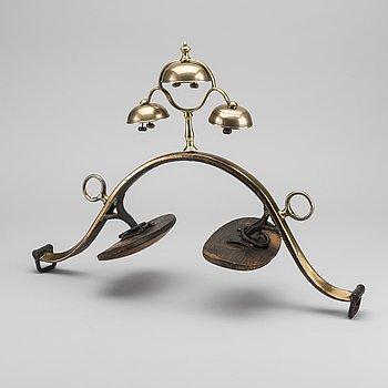 SELBÅGE, mässing, troligen rysk, 1800-tal.