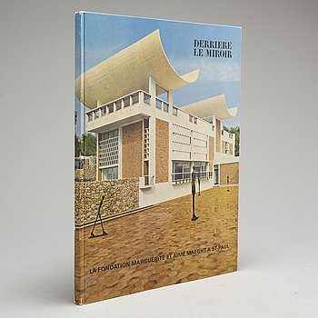 """BOK, Derrière le Miroir nr 148 1964, """"Fondation Marguerite et Aimé Maeght a Saint Paul""""."""