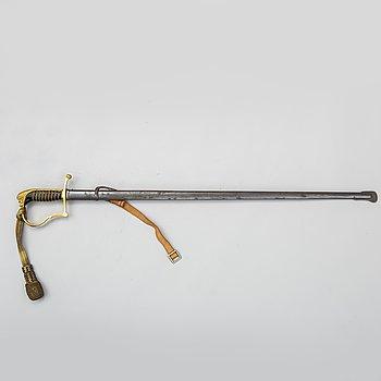 SABEL, svensk, m/1899 för infanteriofficer.