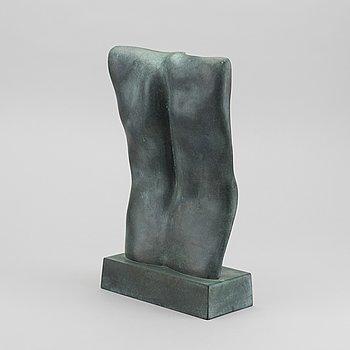 BARBRO BÄCKSTRÖM, skulptur, brons, numrerad 8/8, signerad HB BB, daterad 1983.