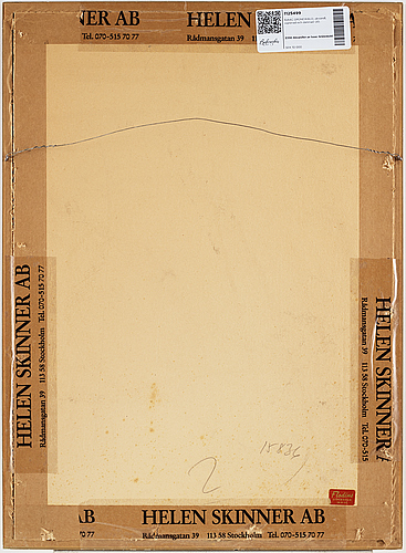 Isaac grÜnewald, watercolor, signed and dated -20.