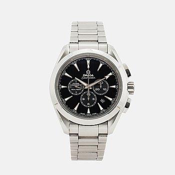 OMEGA, Seamaster, Aqua Terra 150M, Chronometer, kronograf, armbandsur, 44 mm.