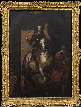 ANTHONY VAN DYCK, Kopia efter, olja på duk, 1800-tal.