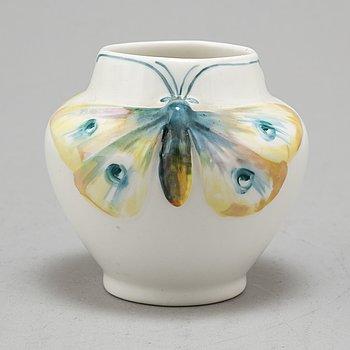 a jugend porcelain vase, Rörstrand, early 20th century.