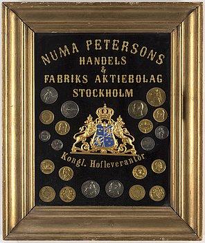 MONTAGE, Numa Petersons handels & Fabriksaktiebolag Stockholm. Kongl. Hofleverantör, samt priskurant från 1900.