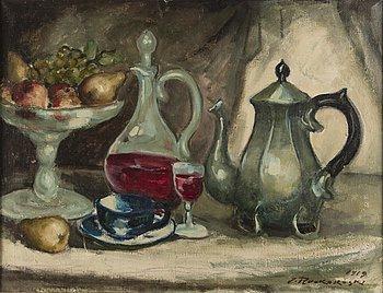 JALMARI RUOKOKOSKI, olja på duk, signerad och daterad 1919.