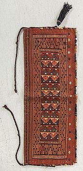 VÄSKA Ersari antik/semiantik ca 39 x 103 cm.