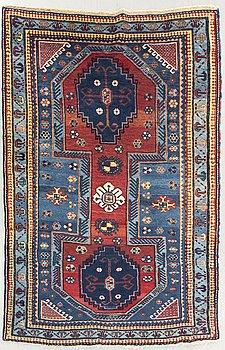 An antique Kazak Lori Pambak ca 182 x 130 cm.