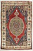 An antique karapinar carpet ca 167 x 107 cm