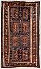 An antique beludj temuri carpet ca 193 x 100 cm