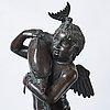 A fountain skulpture, after the antique, circa 1900.