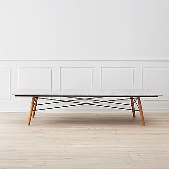 "CHARLES & RAY EAMES, soffbord, ""Eames coffee table"", Vitra."