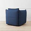 A 'mariposa club armchair' by edward barber & jay osgerby, vitra