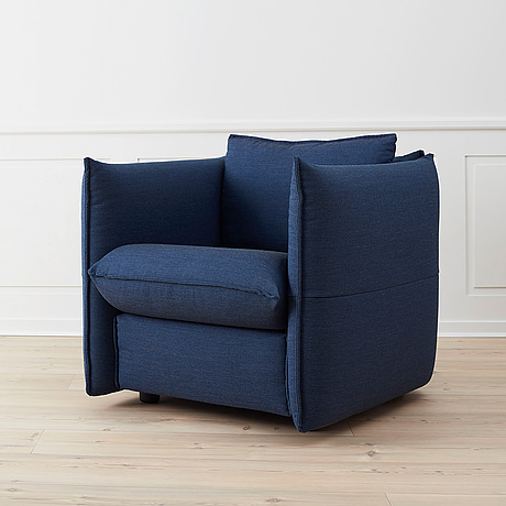 A 'mariposa club armchair' by edward barber & jay osgerby, vitra.