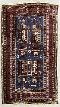 A semiantique/antique Kazak carpet ca 197 x 125 cm.
