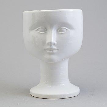 A Lisa Larson stoneware vas from Gustavsberg.