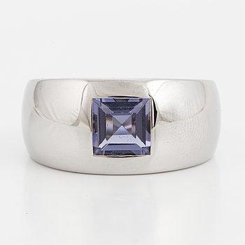 A Chaumet iolite ring.