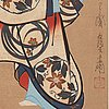 Kaigetsudo (choyodo) anchi (act. 1711 36), after, color woodblock print. japan, 19th century