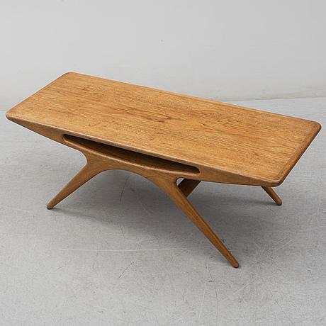 "Johannes andersen, soffbord, ""smile"", för cfc silkeborg, danmark, 1950 tal"
