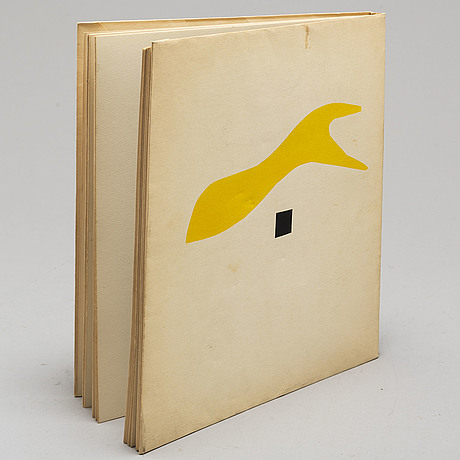 Book, with cover litograph.