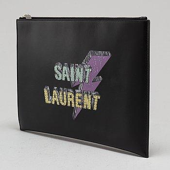 "SAINT LAURENT, ""Rider"", clutch/fodral till surfplatta."