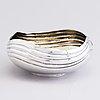 A parcel-gilt silver bowl, mark of süleyman, 20th century.