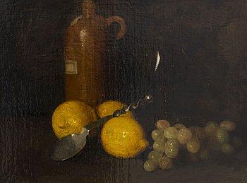 EMIL CARLSEN, olja på duk, signerad.
