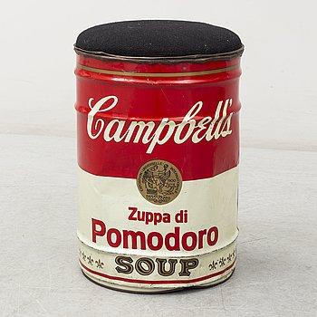 "SIMON GAVINA, pall, ""Omaggio a: Andy Warhol"", Ultramobile Collection, Studio Simon, Bologna, Italien efter 1973."