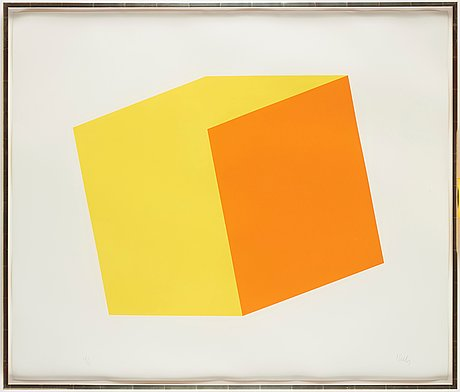 "Orange"", from ""series of ten lithographs"""