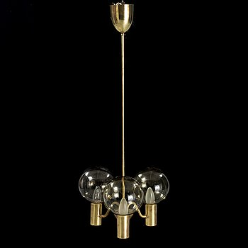 "A ""Patricia"" ceiling lamp by Hans-AGne Jakobsson, Markaryd, Sweden from the second half of the 20th century."
