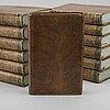 """""""history of england"""" av david hume och tobias smollet, 13 vol. london 1789 1796"""