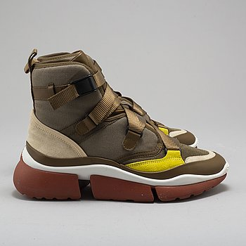CHLOÉ, sneakers, fall collection size 37.