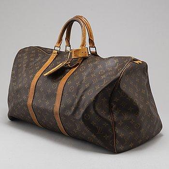 LOUIS VUITTON, weekendbag 'Keepall 55'.