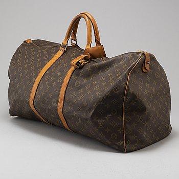"LOUIS VUITTON, weekendbag ""keepall 60""."