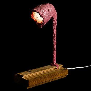 TEEMU SALONEN, a 'Steve' table lamp/sculpture signed Teemu Salonen 2016.