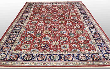 a carpet, Tabriz, around 380 x 245 cm.