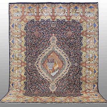 MATTA, Figural kashmar, ca 398 x 295 cm.