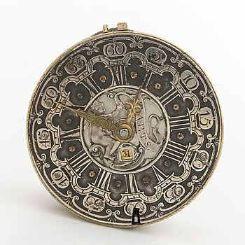 FICKUR - J TARTS, London, datum, 1700-talets mitt / andra hälft, ca 42 mm.
