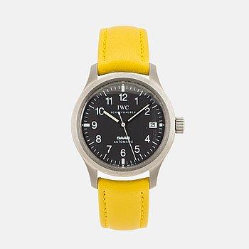 "IWC, Mark XII Saab, ""Mellow Yellow"", armbandsur, 36 mm."