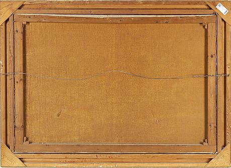 Johan krouthén, oil on canvas, signed johan krouthén and dated 1909.
