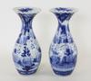 Vaser. porslin, ett par. japan.