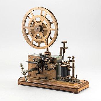 MORSETELEGRAF L M Ericsson, 1900-talets början.