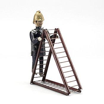 """LEKSAK,""""Le Pompier"""" Fernand Martin, Frankrike, 1900-talets början."""