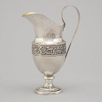 F KELLER, kanna, silver, Braunschweig ca 1830.