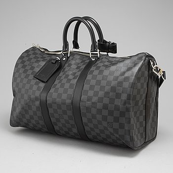 "LOUIS VUITTON, ""Keepall Bandouliere 45""."