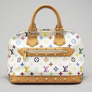 """LOUIS VUITTON, väska """"Alma multicolor""""."""