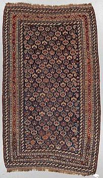 MATTA, antik Khamseh sannolikt, ca 253-268 x 140-150,5 cm (inklusive kortsidornas slätväv).