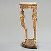 Konsolbord, sengustavianskt stockholmsarbete, omkring år 1800.