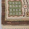 "Märta måås-fjetterström, a carpet, ""örtagården"", knotted pile, ca 330,5 x 233,5 cm, signed ab mmf."
